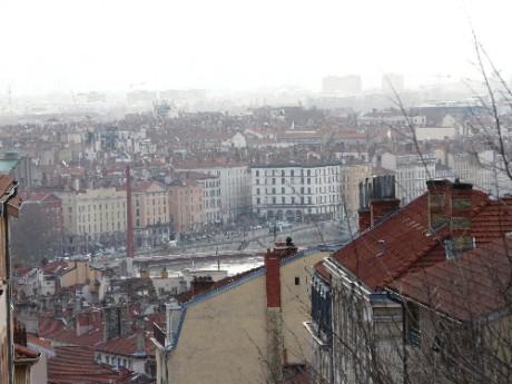 Lyon vue Croix- Rousse - Photo Lyonmag.com