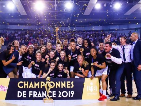 Les filles du Lyon ASVEL championnes de France - DR/Infinity Nine Media Claire Porcher