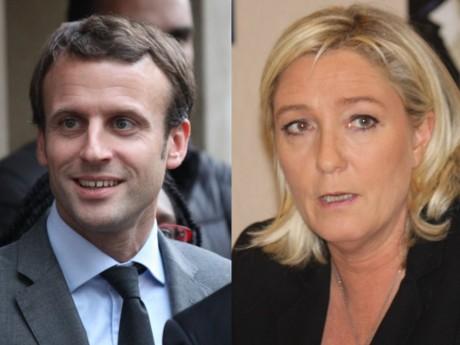 Emmanuel Macron et Marine Le Pen au second tour - LyonMag