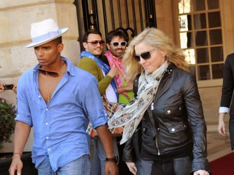 Brahim Zaibat et Madonna -DR