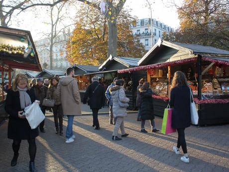 Le marché de Noël de la place Carnot ouvre ce samedi - LyonMag