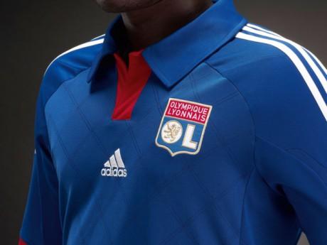 Le nouveau maillot extérieur de l'OL - Photo Adidas-OL/DR