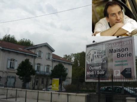 La Maison Borie et, en médaillon, Manuel Viron - LyonMag