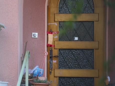 La maison après le passage des enquêteurs - LyonMag