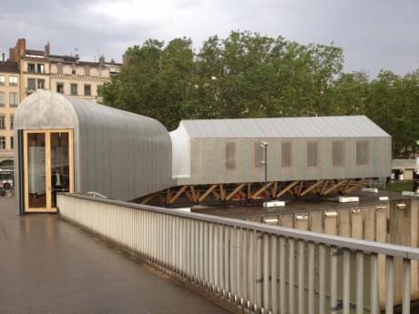 La maison du projet des Rives de Saône - Photo Lyonmag.com