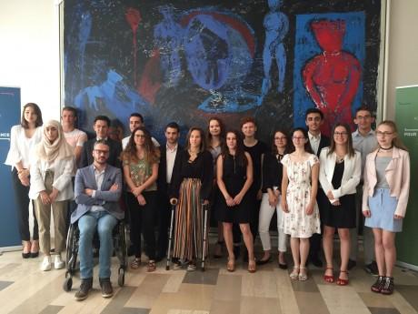 Photo des majors du baccalauréat 2018 (Académie de Lyon) - LyonMag