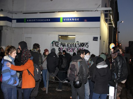 Le rassemblement du Collectif logement - LyonMag
