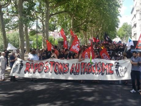La manifestation de samedi après-midi - LyonMag.com