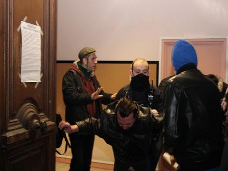 Les manifestants étaient entrés dans le bâtiment l'an dernier - LyonMag