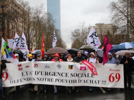 Les manifestants, cet après-midi à Lyon, Photo LyonMag