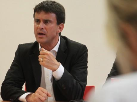 Manuel Valls - Photo LyonMag.com