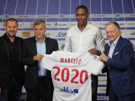Marcelo a été présenté à la presse ce lundi - Lyonmag.com