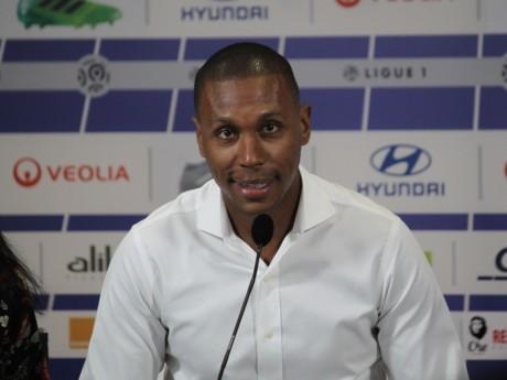 Marcelo lors de sa présentation à la presse - LyonMag