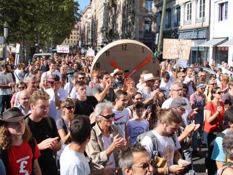 La précédente marche pour le climat à Lyon - LyonMag