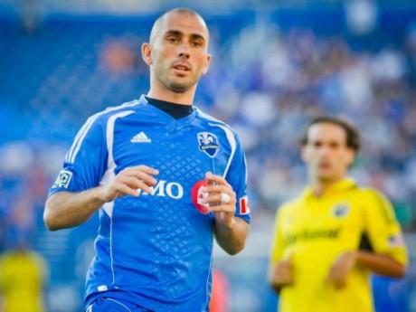 Marco Di Vaio joue aujourd'hui au Canada - Photo site internet Impact Montréal/DR