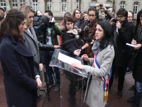 Nathalie Perrin-Gilbert célèbre un faux mariage gay - LyonMag.com