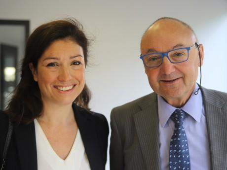 Agnès Marion et Gérard Angel - LyonMag