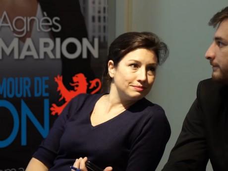 Agnès Marion - Capture d'écran DR