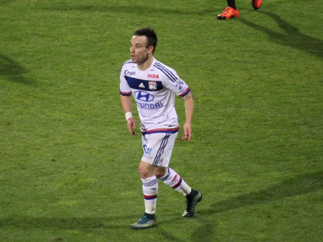 Mathieu Valbuena est indisponible jusqu'à la trêve - Lyonmag.com