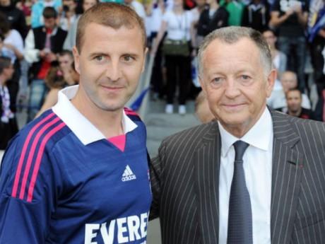Ancien joueur de l'OL, Florian Maurice a intégré la cellule recrutement du club de Jean-Michel Aulas en 2009 - DR