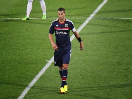 Maxime Gonalons et ses coéquipiers n'ont rien pu faire face à la Real Sociedad - Photo LyonMag.com