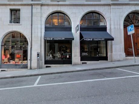 La boutique braquée à Genève - Capture Google Maps