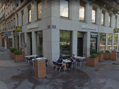 Le McDonald's de la rue Victor-Hugo - Capture d'écran Google