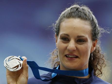 Mélina Robert-Michon ira chercher sa première médaille olympique - Reuters