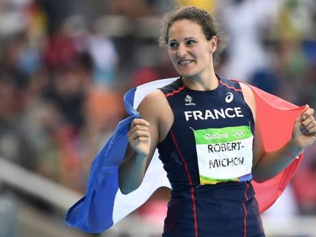 Mélina Robert-Michon avait remporté l'argent au lancer de disque - DR