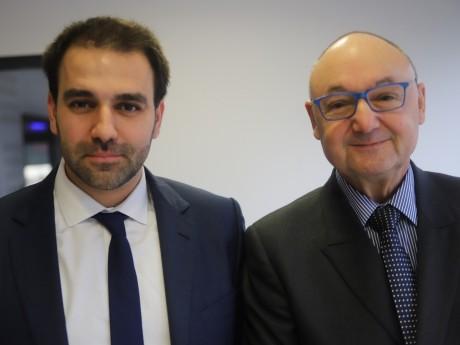 Antoine Mellies et Gérard Angel - LyonMag