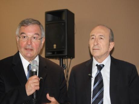 Michel Mercier et Gérard Collomb font bonne figure dans le classement peu avantageux de l'Express - LyonMag