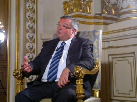 Michel Mercier, garde des Sceaux et président du Conseil général du Rhône