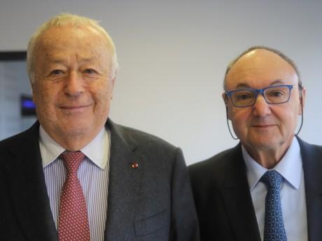 Alain Mérieux et Gérard Angel - LyonMag