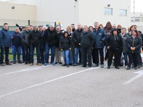 L'entreprise Mersen est bloquée par les salariés grévistes - Lyonmag.com