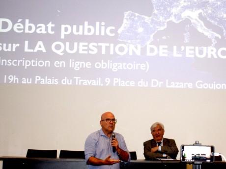 Bruno Bonnell lors de sa conférence ce lundi - LyonMag