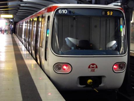 Le métro B à Debourg - Photo DR