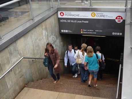 La station Hôtel de Ville sera rénovée à partir de l'été 2014 - LyonMag