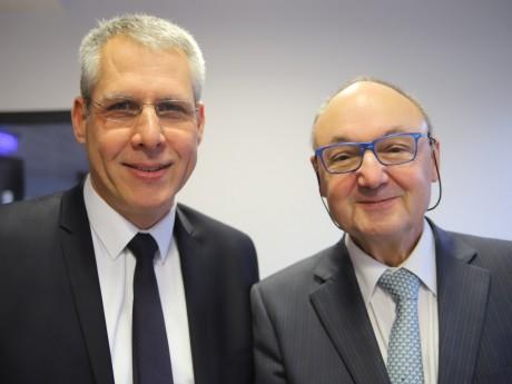 Philippe Meunier et Gérard Angel - LyonMag