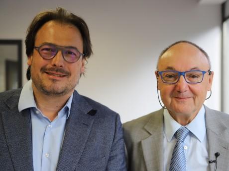 Olivier Michel et Gérard Angel - LyonMag