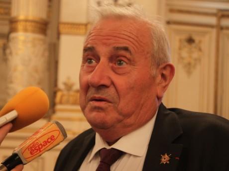 Michel Forrisier à la Préfecture du Rhône le 23 avril dernier - LyonMag