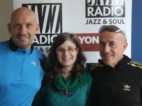 Michel Pakloglou (à droite) avec les membres de l'association Oxygène (Patrick Hiriart) - LyonMag