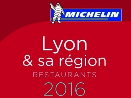 Le guide Michelin Lyon et sa région est disponible en librairie - DR