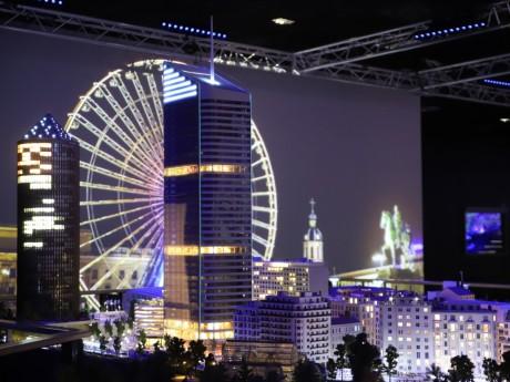 La tour Incity miniaturisée à Mini World Lyon - LyonMag