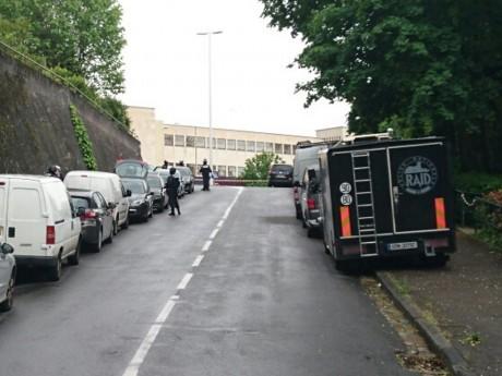 Le quartier du lycée Jean Perrin a été bloqué - LyonMag