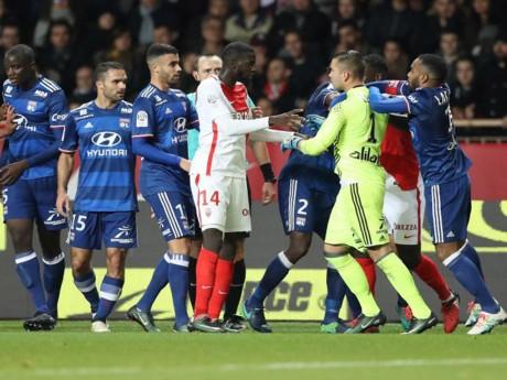 Match très nerveux entre Monaco et l'OL - DR