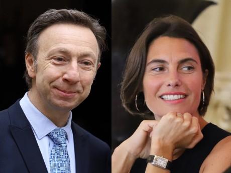Stéphane Bern et Alessandra Sublet - LyonMag