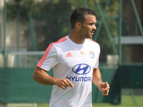 Jérémy Morel à l'entraînement - LyonMag.com