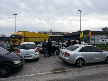 Les salariés de Mory Ducros mobilisés lors du premier plan social - LyonMag.com