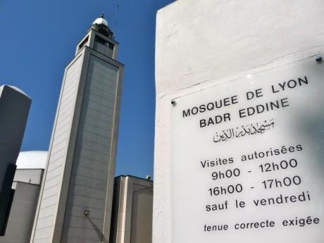 Mosquée de Lyon - photo Lyonmag.com