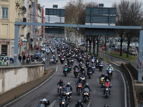 Les motards en colère à Lyon ce samedi - LyonMag